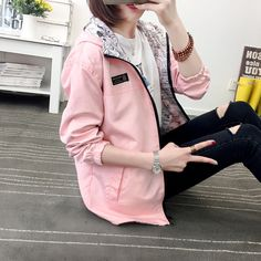 """Japanese students hooded jacket Coupon code """"cutekawaii"""" for 10% off"""