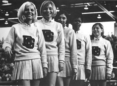 1950s cheerleaders #Cheerleader #cheer #cheerleading
