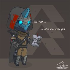 Cayde-6 hatin the job XD