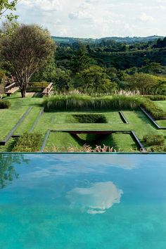 HGTV Gardens spotlights 13 luxurious residential gardens across the U. Garden Villa, Garden Park, Garden Route, Garden Cottage, Modern Landscaping, Outdoor Landscaping, Garden Landscape Design, Landscape Architecture, Contemporary Architecture