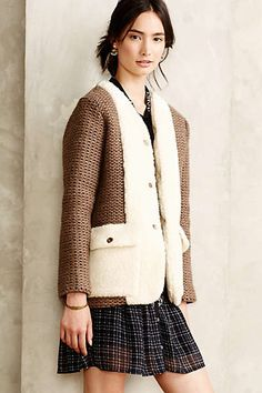 The cozy factor is off the charts....omw-Saint Remy Boucle Cardigan