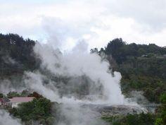 Geothermal.  Rotorua, New Zealand