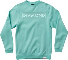 Diamond Future Crew Sweatshirt - now available at Warehouse Skateboards! #whskate #spring2015 #skateboarding