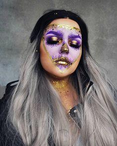 Face Paint Makeup, Fx Makeup, Lace Front Wigs, Lace Wigs, Kind Reminder, Detangling Brush, Halloween Makeup, Halloween Ideas, Fantasy Makeup