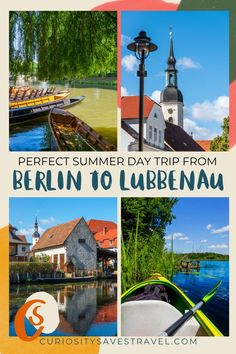 Looking for a great day trip from Berlin? Consider visiting Lubbenau and the Spreewald Biosphere, an outdoor lover's paradise - MAP included! I places to go in Germany I what to do in Lubbenau I Germany travel I things to do in Berlin I day trips in Germany I Germany day trips I Germany outdoors I where to go in Germany I Germany destinations I places to visit in Germany I Europe travel I Berlin day trips I day trips from Berlin I things to do in Germany I places in Germany I #Berlin #Germany Top Europe Destinations, Road Trip Europe, Backpacking Europe, Road Trips, Backpack Through Europe, European Travel Tips, Germany Travel, Day Trip, Cool Places To Visit