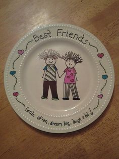 Personalized Plates! Great Christmas gift idea