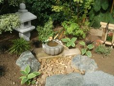 7 Practical Ideas To Create A Japanese Garden - Praktische Ideen Gardening Magazines, Gardening Blogs, Asian Garden, Japanese House, Japanese Gardens, Zen Gardens, Small Plants, Garden Inspiration, Garden Ideas