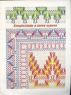 Layette Cross Stitch by Nubia Cortinhas: Vagonite Swedish Embroidery, Types Of Embroidery, Beaded Embroidery, Cross Stitch Embroidery, Hand Embroidery, Swedish Weaving Patterns, String Art Tutorials, Cat Cross Stitches, Monks Cloth