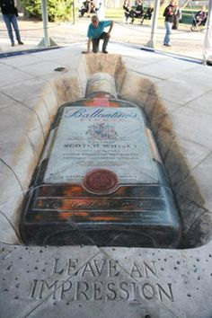 I need to see one of these chalk-illusions in person before I die