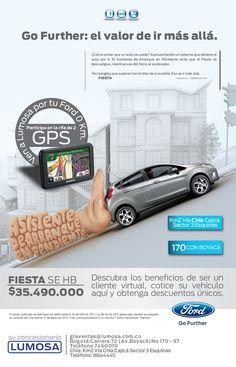 Beneficios de se un cliente virtual:  Campaña realizada para Ford