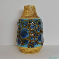For sale through VNTG: 132-40 Vase from the sixties by Unknown Designer for Carstens   #47330