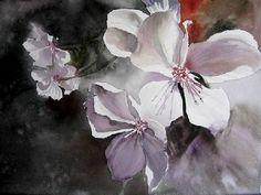 """""""Fleurs de pommiers"""" by Isabelle Fournier Perdrix"""