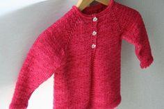 Cardigan bebe&enfant 6m-10a - tricot - Tutoriels de tricot chez Makerist