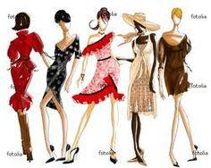 Fashion illustration and design communication- fashionista sketch Fashion Week, Fashion Art, Fashion Tips, Fashion Shoes, Ethnic Fashion, Fashion Dolls, Street Fashion, Girl Fashion, Inside Out Style