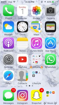 Iphone se iphone homescreen wallpaper, apps for teens, iphone layout, whats on my Apps For Teens, Iphone Homescreen Wallpaper, Iphone App Layout, Shocking Facts, Phone Organization, Instagram And Snapchat, Game App, Iphone Se, Pretty Wallpapers