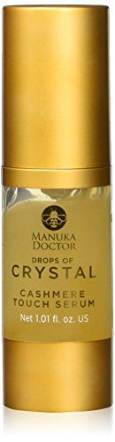 Manuka Doctor Drops of Crystal Cashmere Touch Serum Natural 102 Fluid Ounce -- You can find out more details at the link of the image. (This is an affiliate link) Anti Aging Serum, Face Oil, Whiskey Bottle, Special Deals, Crystals, Cashmere, Touch, Link