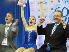 Gracie Gold Saturday backstage at U.S. Champs