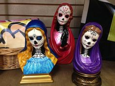 The Local COOP: Handmade Paradise in the Crislip Arcade Halloween Crafts, Halloween Decorations, Macabre Decor, Bad Barbie, Goth Home Decor, Day Of The Dead Art, Thrift Store Crafts, Creepy Dolls, Sacred Art