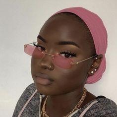 Dark Skin Makeup, Dark Skin Beauty, Black Beauty, Black Girl Makeup, Girls Makeup, Cute Makeup, Makeup Looks, Sunglasses For Your Face Shape, Looks Dark