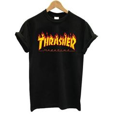 Thrasher Skateboard tshirt