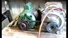 3000 Watt Generator Powers Itself, Grinder & Drill Press., via YouTube.