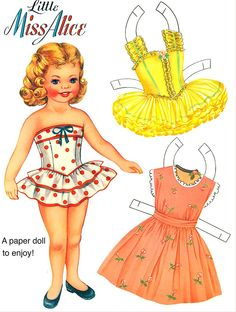 Paper Doll (USA) — Little Miss Alice, 1950's  (790x1045)