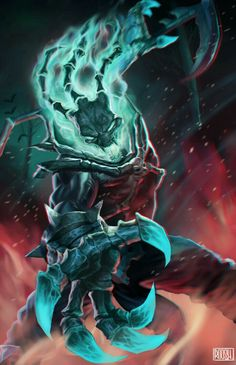 Thresh- League of Legends Great fan art of one of the game's best supports Lol League Of Legends, League Of Legends Fondos, Katarina League Of Legends, Akali League Of Legends, Riot Games, Pc Games, Mobile Legends, Fan Art, Overwatch