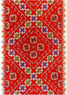 Embroidery of Sofia Area, Shoppe region, Bulgaria ✳2