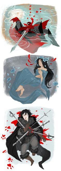 Rhaegar, Lyanna and Jon