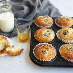 Yoghurt and Banana Muffins