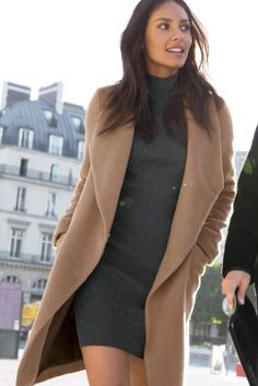 Buy Camel Waterfall Coat from the Next UK online shop