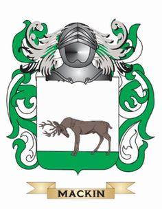 Mackin family crest