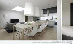 71 Impressive Modern Minimalist Dining Room Ideas #DiningRoomIdeas #Minimalist