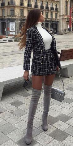 cream skirt cream skirt 25 Frauen-Blazer-Outfit-Ideen, um a. - cream skirt cream skirt 25 Frauen-Blazer-Outfit-Ideen, um alles zu erobern , Source by - Blazer Outfits Casual, Blazer Outfits For Women, Cute Casual Outfits, Blazer Fashion, Winter Fashion Outfits, Casual Skirts, Blazers For Women, Look Fashion, Chic Outfits