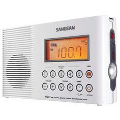 Sangean Portable Water-resistant Radio