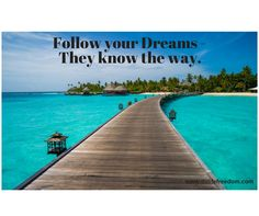 This is a beautiful walkway over the sea. Ditch the 9-5 and travel while you make money!  Click on the picture to learn more!
