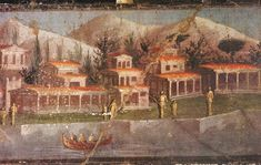 And one more Third Style Fresco - also from the House of Marcus Lucretius Fronto - www.pompeii.org.uk