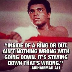 Today we lost one of our greatest sportsman ever . He was the best, the greatest boxer. Muhammad Ali may you rest in peace. Here are some of the Best Inspirational Quotes from Muhammad Ali … May he inspire us forever . Great Quotes, Quotes To Live By, Me Quotes, Motivational Quotes, Inspirational Quotes, Motivational Pictures, Sport Quotes, The Words, Montag Motivation