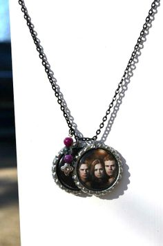 The Vampire Diaries Bottle Cap Necklace / Stefan / by SpearCraft, $6.00