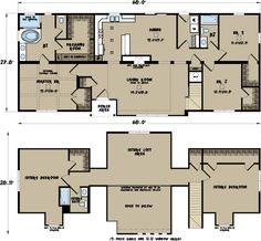 House Plans On Pinterest Modular Home Floor Plans