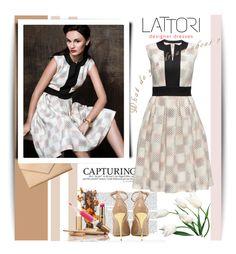 """""""LATTORI dress"""" by shambala-379 ❤ liked on Polyvore featuring Carré Royal, Lattori, Balmain and lattori"""
