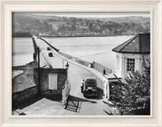 The Teignmouth-Shaldon Toll Bridge, over the River Teign, Devon, England Photographic Print - AllPosters.co.uk