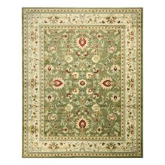 EORC OS2555GN Mahal Green Area Rug - Floors and Surfaces