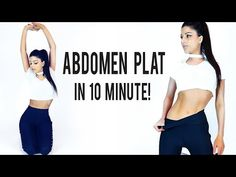 ABDOMEN PLAT IN 10 MINUTE PE ZI/ 10 MIN AB WORKOUT // No Equipment [HD] - YouTube 10 Min Ab Workout, 10 Min Abs, Fes, Sport, Youtube, Deporte, Sports, Youtubers, Youtube Movies