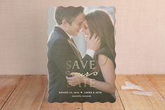 XOXO Foil-Pressed Save The Date Cards by Carolyn M...   Minted