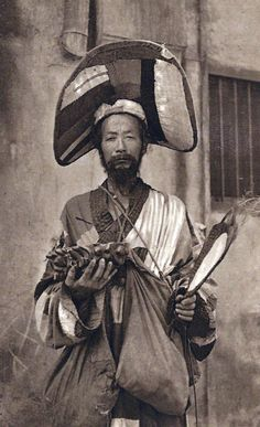 A mendicant Daoist priest, China c.1900
