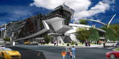 Dinkoff Architects | BIBLIO-Centrum - Helsinki, Finland