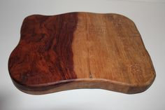 A reclaimed cutting board from large slab