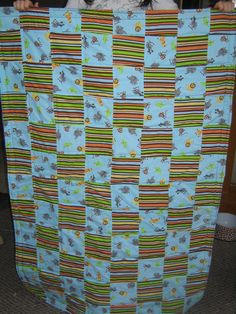 Front of Elijah's quilt
