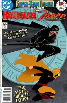 Super-Team Family: The Lost Issues!: Hourman and Zorro
